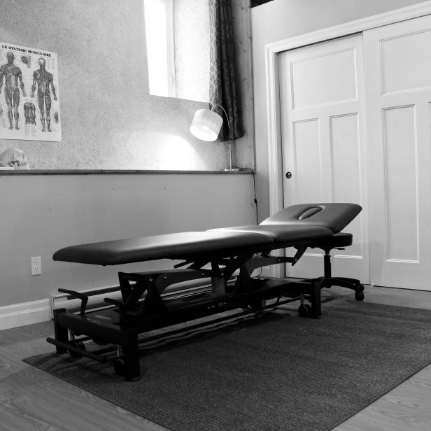 Salle de traitement d'ostéopathie monOsteo.com